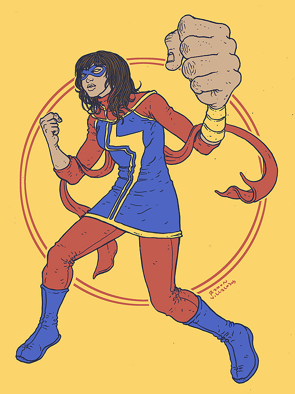 Ms-Marvel-Ramon-Villalobos-Art-Of-The-Week